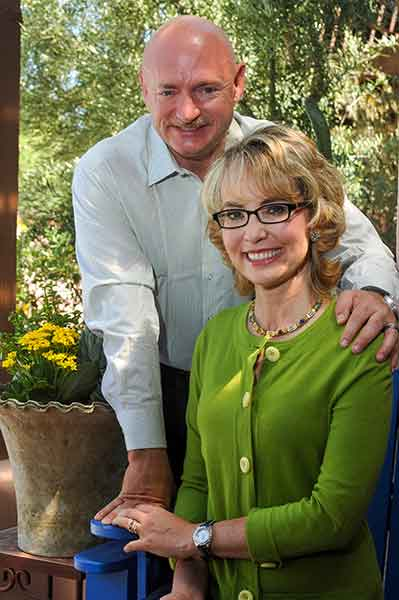 Gabby Giffords and Mark Kelly